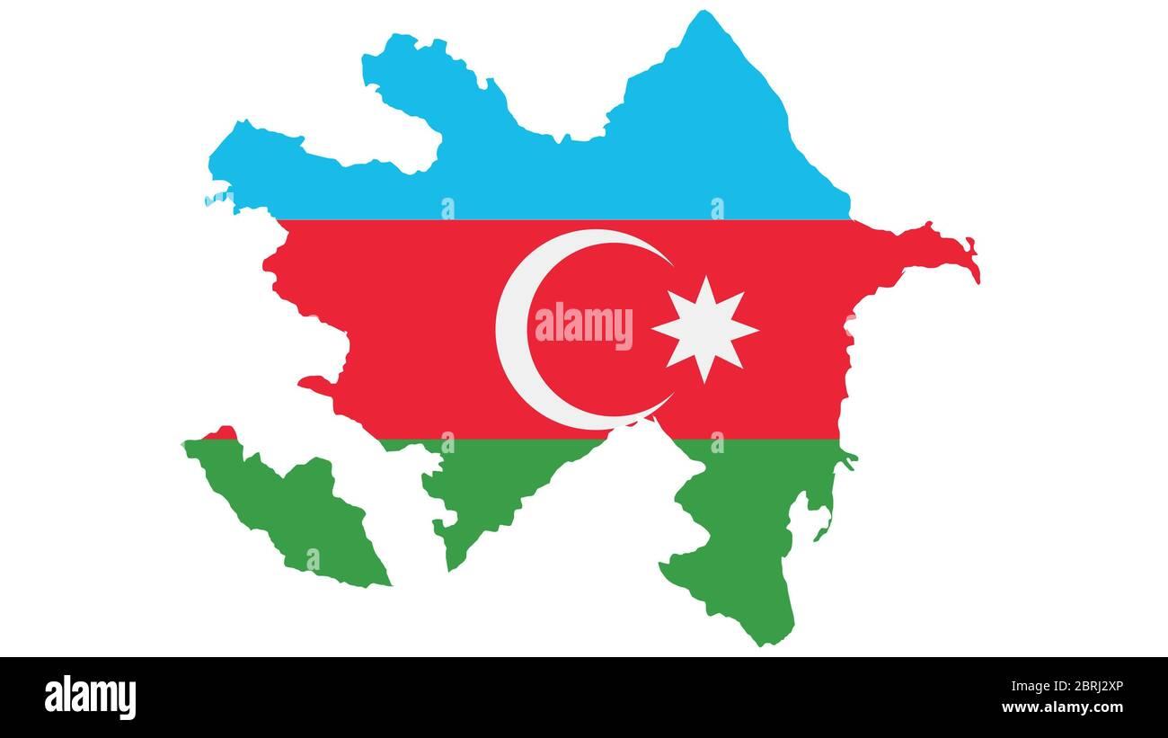 Azerbaijan Map Stockfotos Und Bilder Kaufen Seite 2 Alamy