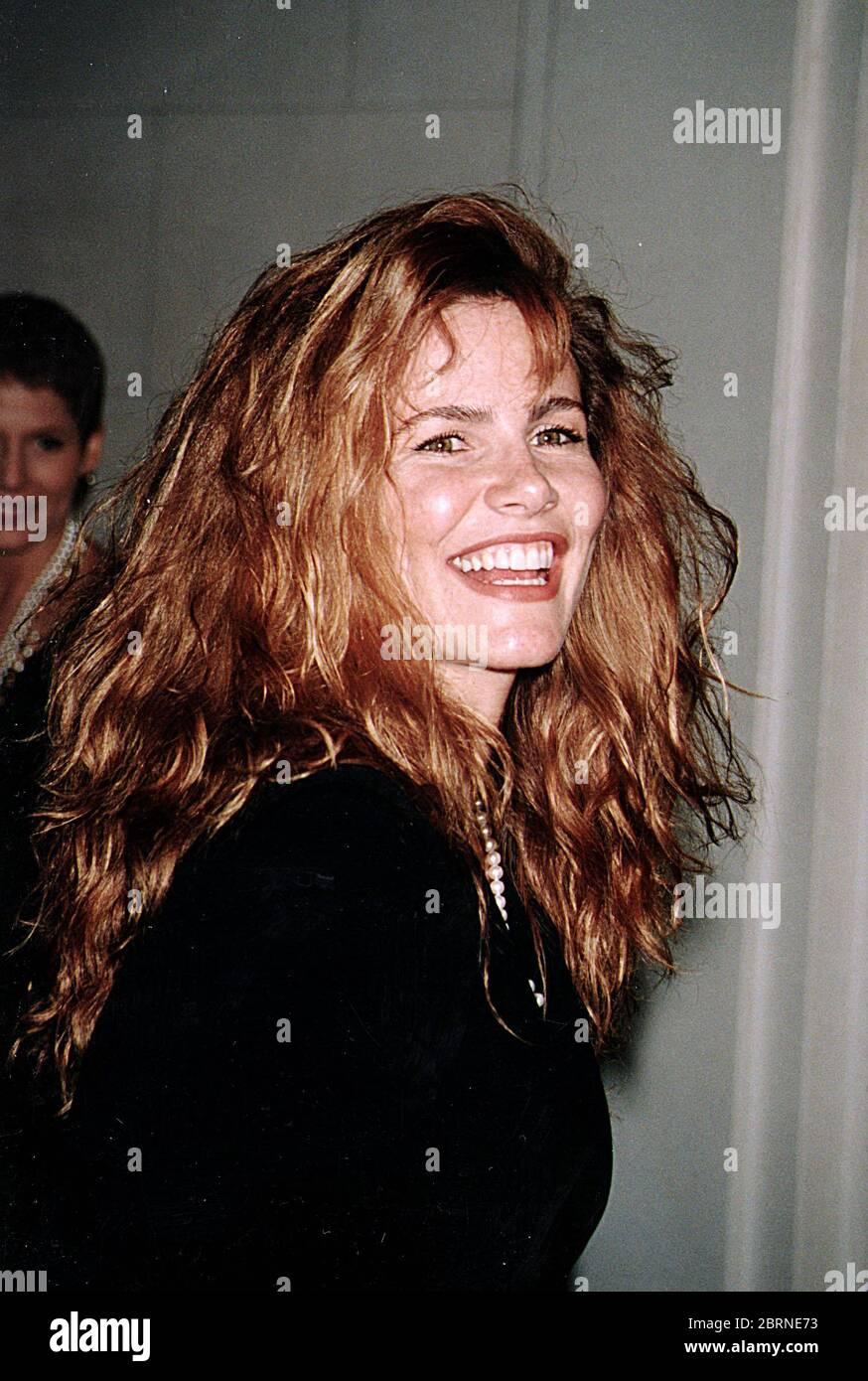 Tawny Kitaen Bei Der Donald Trump Und Marla Maples Hochzeit -12/20/93. Quelle: John Barrett/PhotoLink/MediaPunch Stockfoto