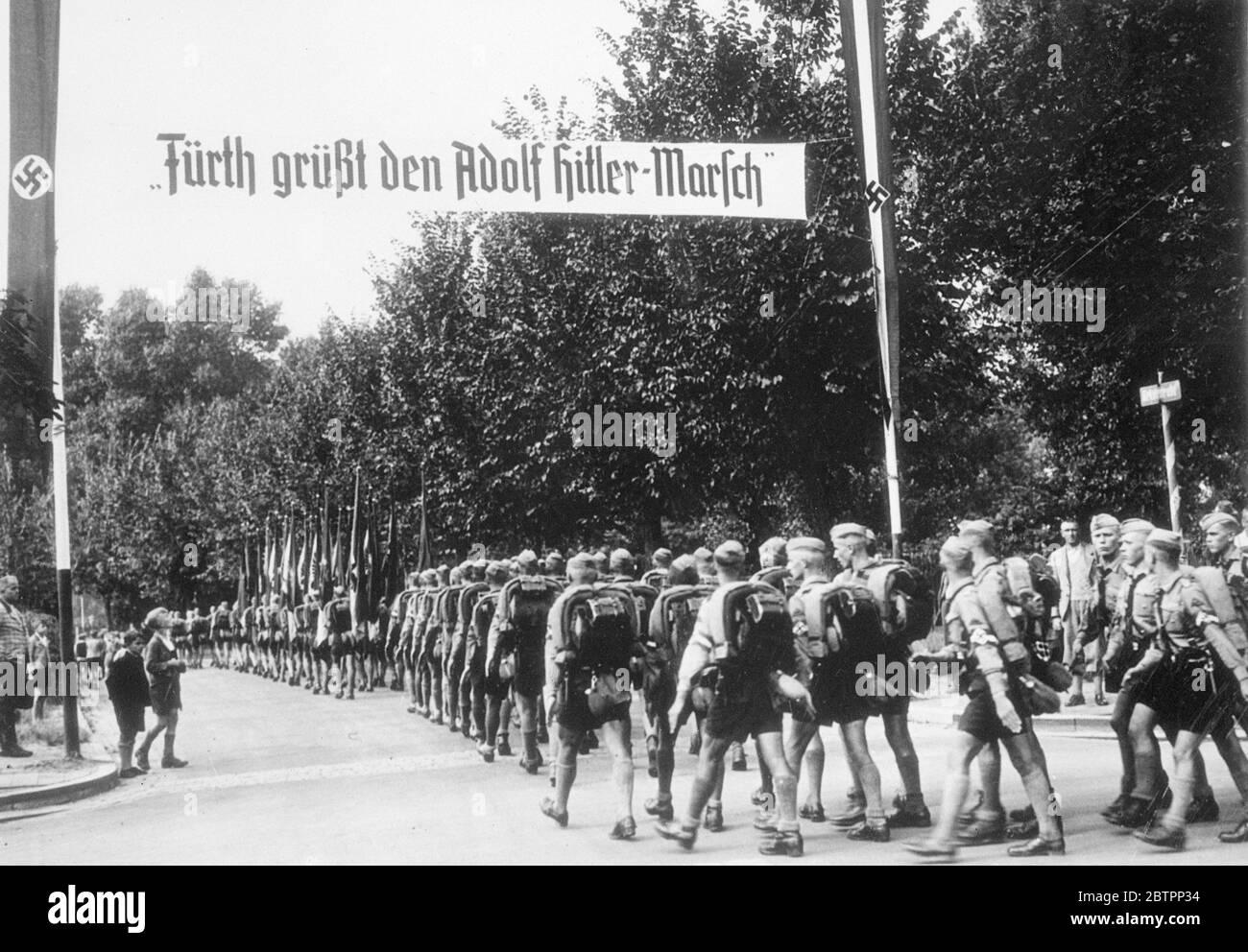 Hitlerjugend haarschnitt Frisuren für