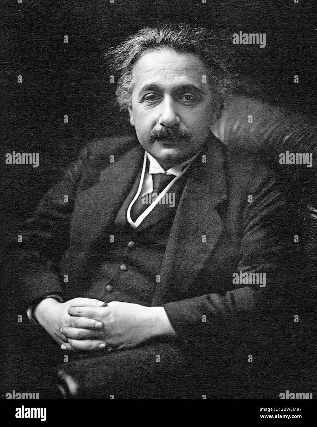 Deutschland geborene Physiker ALBERT EINSTEIN (1879-1955) Stockfoto