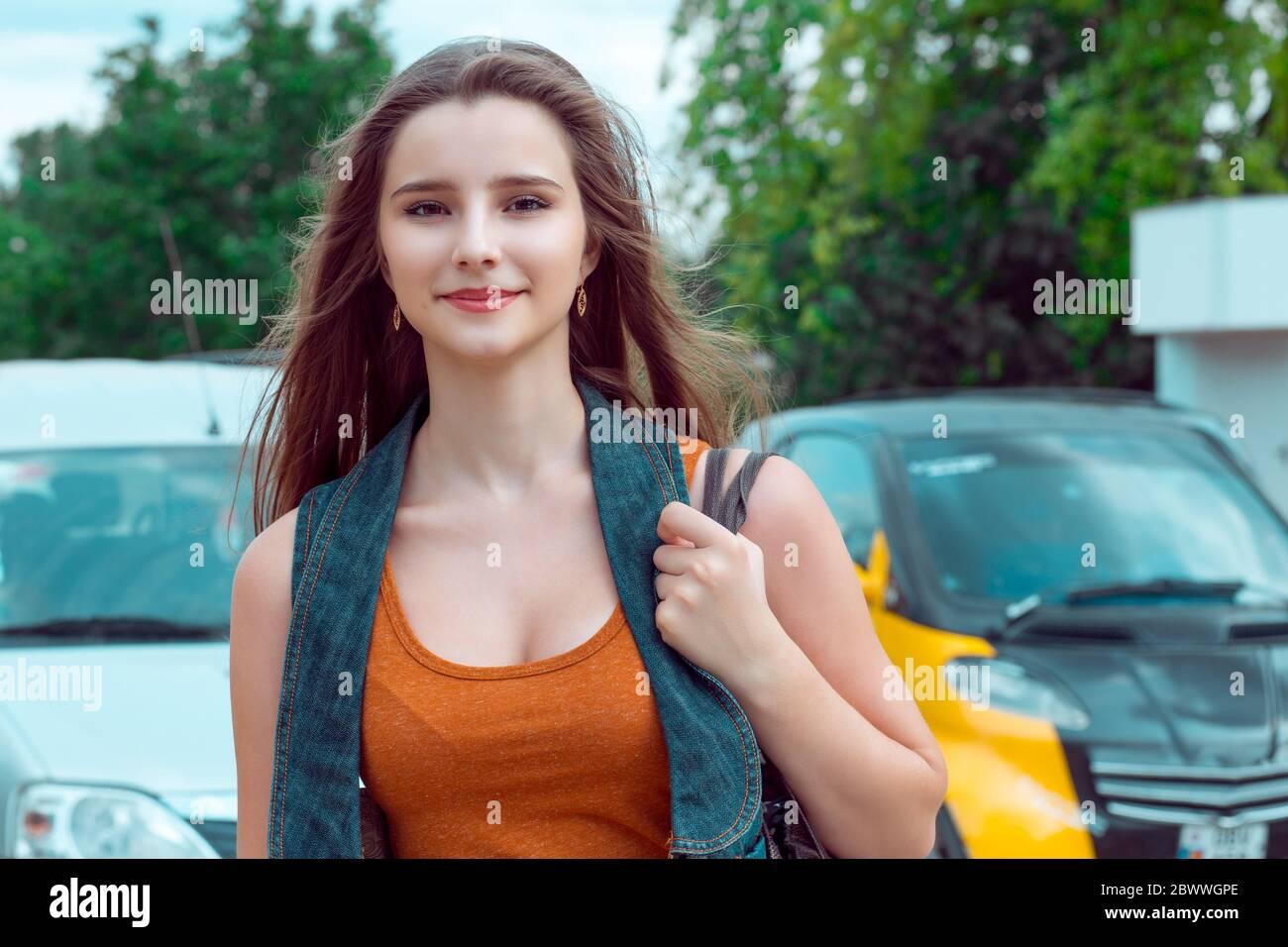 schone teen beugte sich uber