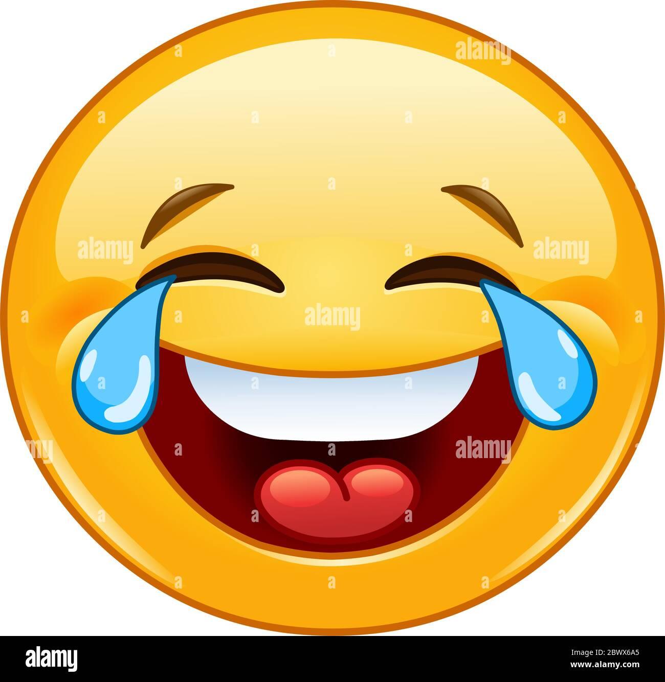 Vor lachen tränen smiley Nicht lustig:
