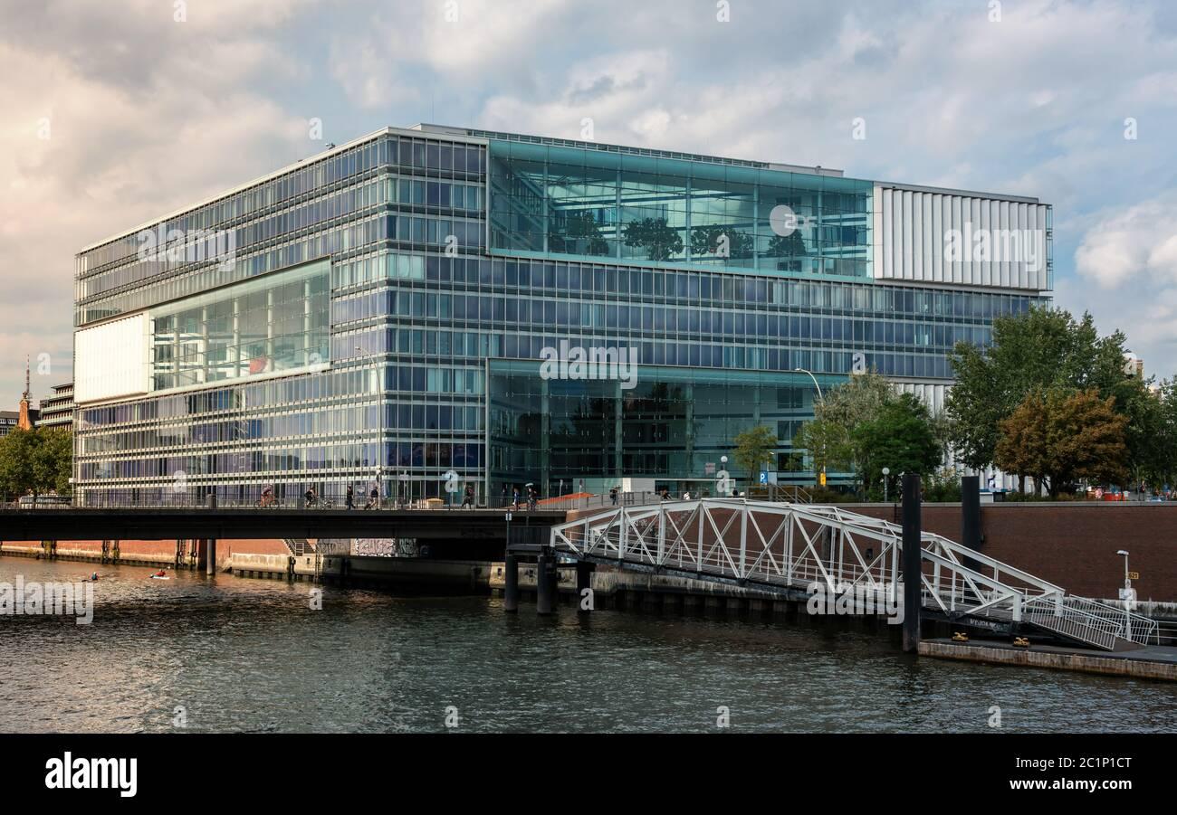 ZDF Hamburg Stockfoto