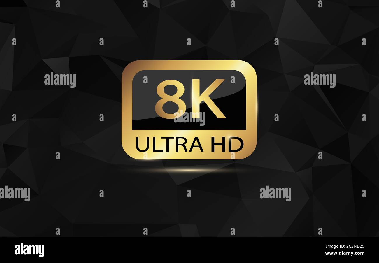 8k Ultra Hd 4k Uhd Quad Hd Full Hd Vektorauflosung Von 1080p Bis 8k Eingestellt 8k Uhd Ist Die Hochste Auflosung Die In Der Aufzeichnung 2020 Definiert Ist Stockfotografie Alamy