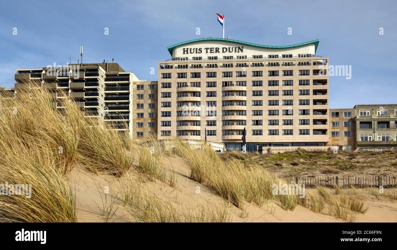 Huis Ter Duin Grand Hotel Noordwijk Aan Zee Nordsee Stockfotografie Alamy