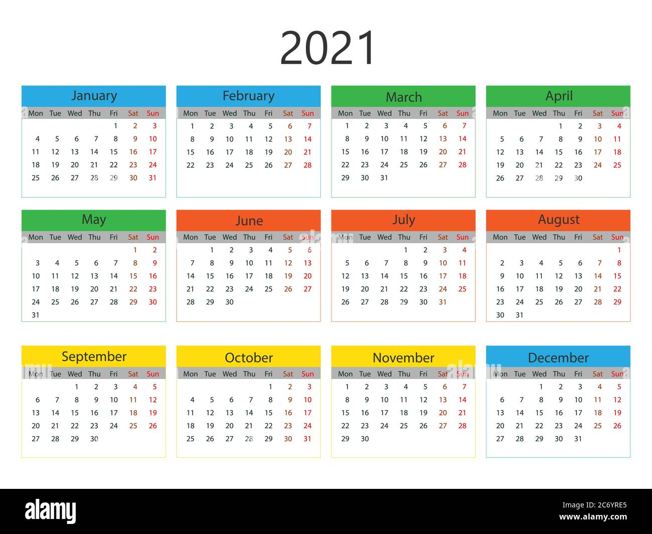 Aktuelle Kalenderwoche 2021 / Kalender 2021 Thüringen Zum ...