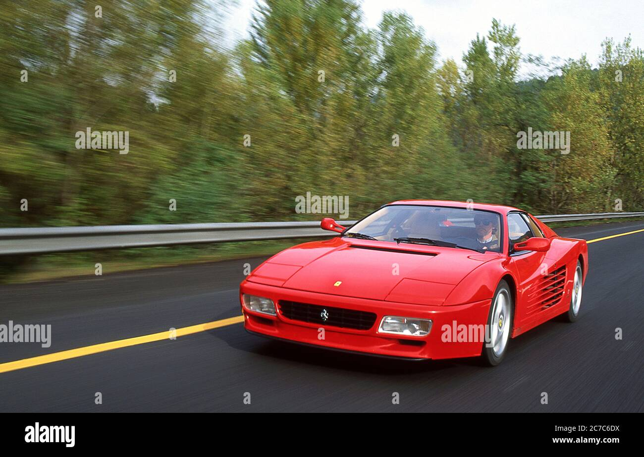 Ferrari 512 Tr Stockfotos Und Bilder Kaufen Alamy