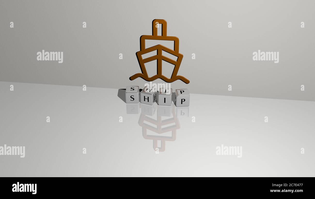 Sinking Ship Illustration Stockfotos und -bilder Kaufen