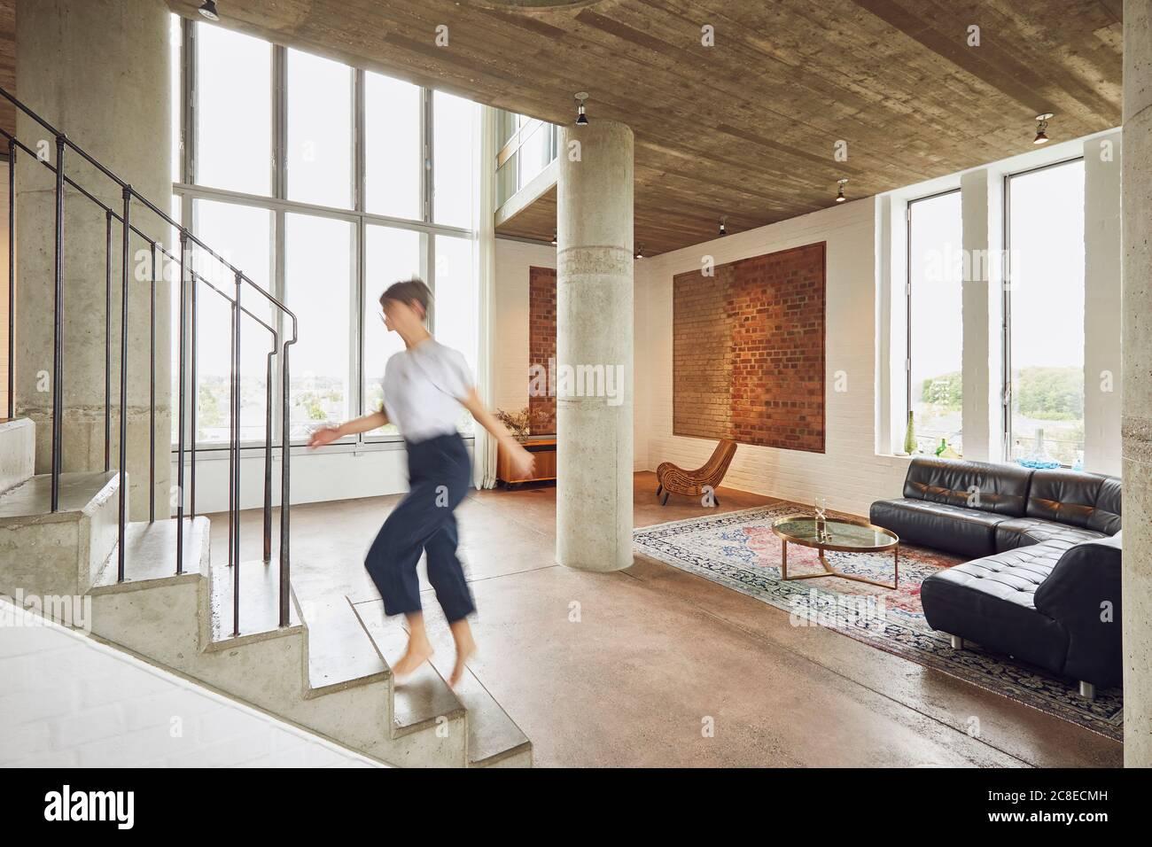 Bauhaus Treppe Stockfotos Und Bilder Kaufen Alamy