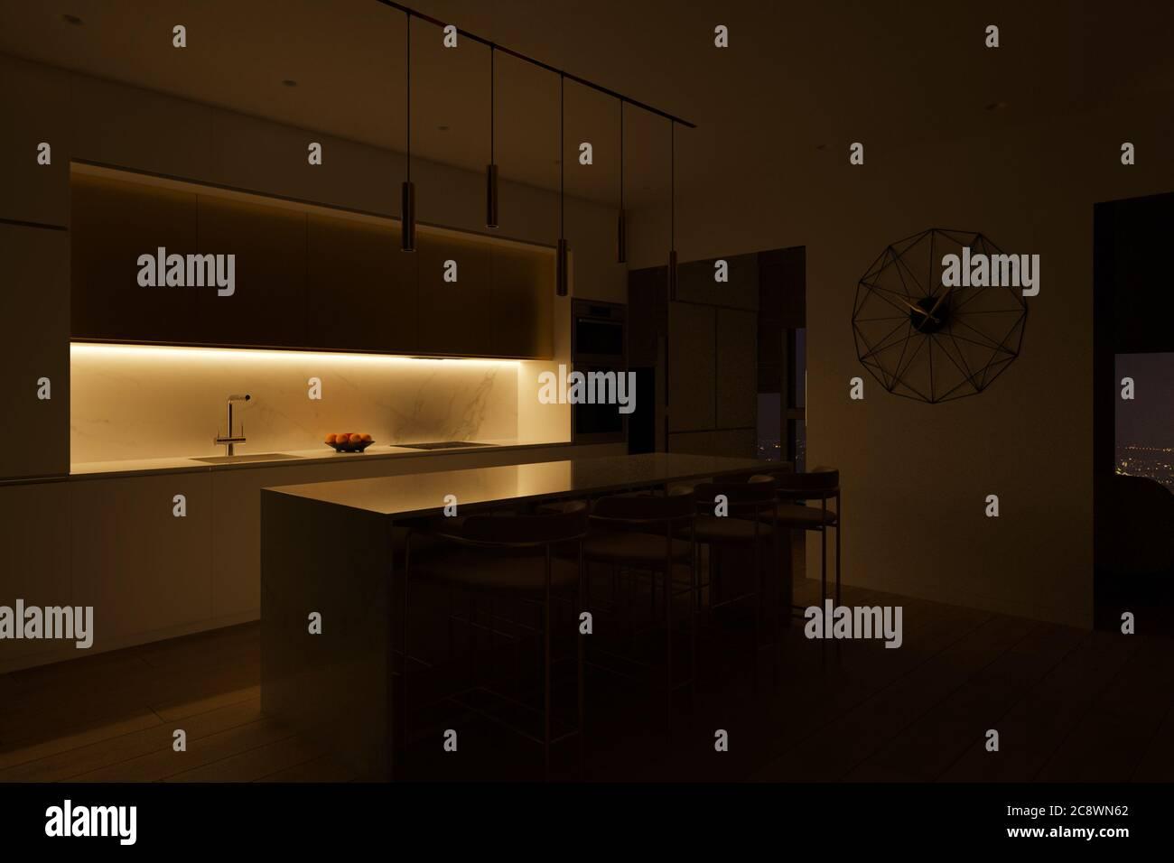 Kuchengestaltung Stockfotos Und Bilder Kaufen Alamy