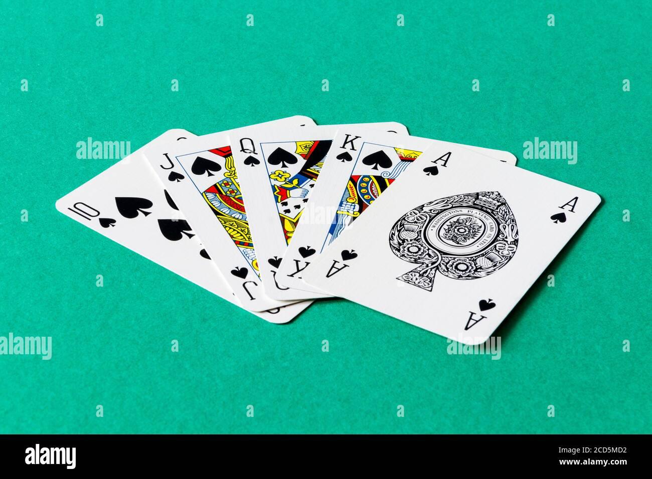 Hand beim poker höchste Höchste Farbe