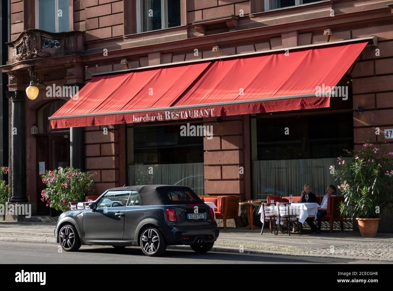 Foto Zeigt Borchardt Restaurant 68 Berlin Im Besitz Von Roland Mary Pittos Ehemann Von Brads Freundin Nicole Poturalski Bild Von Gavin Rodge Stockfotografie Alamy