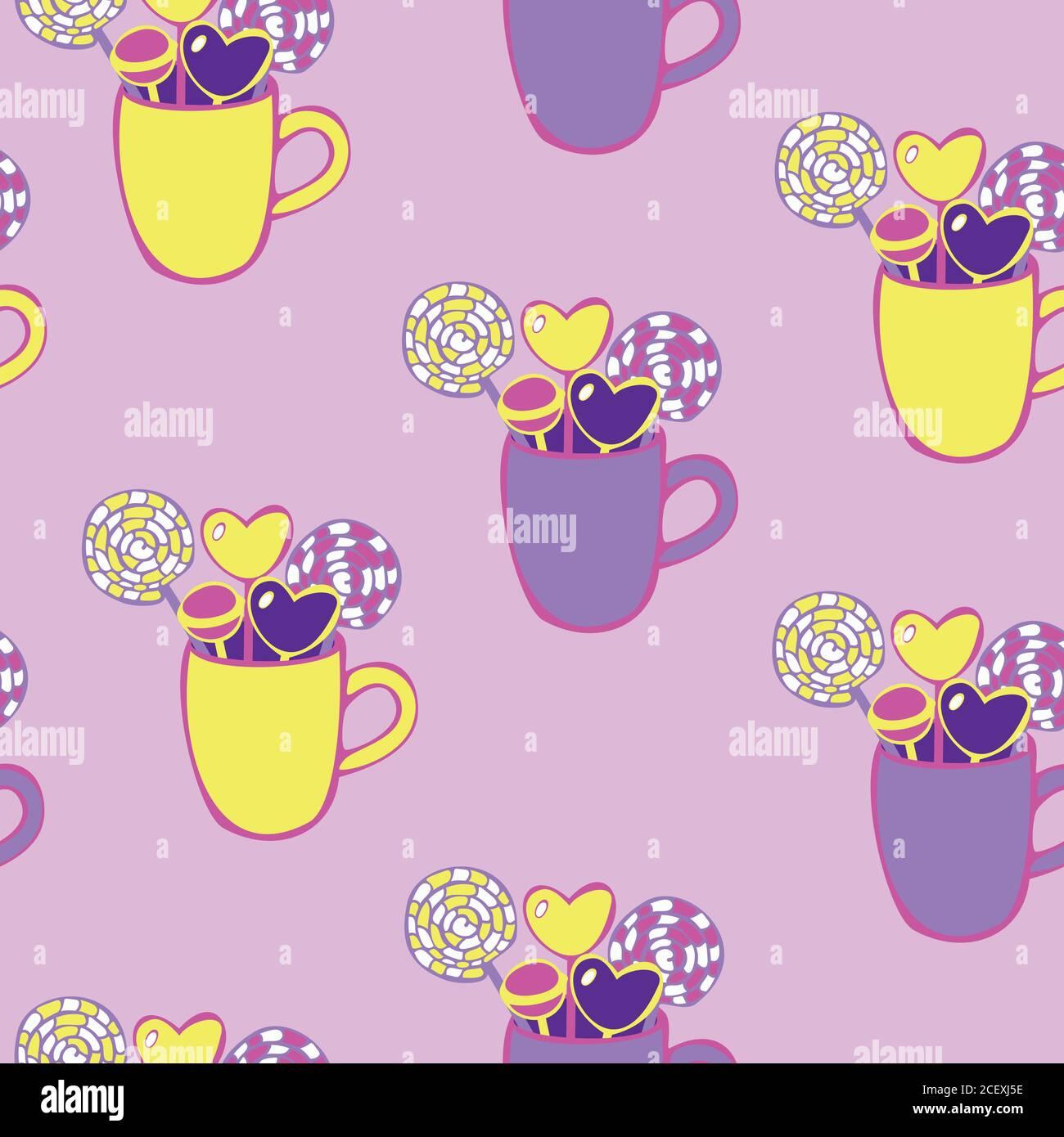 Süßwaren Vektor Vektoren Stockfotos und  bilder Kaufen   Alamy
