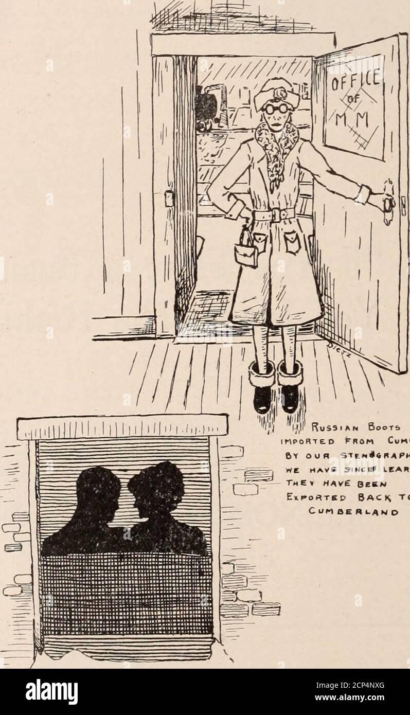 . Baltimore and Ohio Employees Magazine . D auf Dezembtr 29,1922. Herr Orbello wurde 1856 in Tenda, Italien, geboren. Er kam im Alter von achtzehn Jahren mit einem amerikanischen Kriegsmann nach Amerika und wurde ein eingebürgerter amerikanischer Staatsbürger, wenige Jahre nachdem er alt geworden war. Im Jahr 1882 heiratete er Miss AliceGreenwell. Zwei Jahre später war er zunächst als Koch bei der Eisenbahn im Deer Parkhotel angestellt und blieb etwa 20 Jahre in dieser Position und er übernahm die kombinierte Position als Koch und Steward auf Wunsch eines unserer Presi-dents. Er hielt diese Position bis vor zwei Jahren, als er reti Stockfoto
