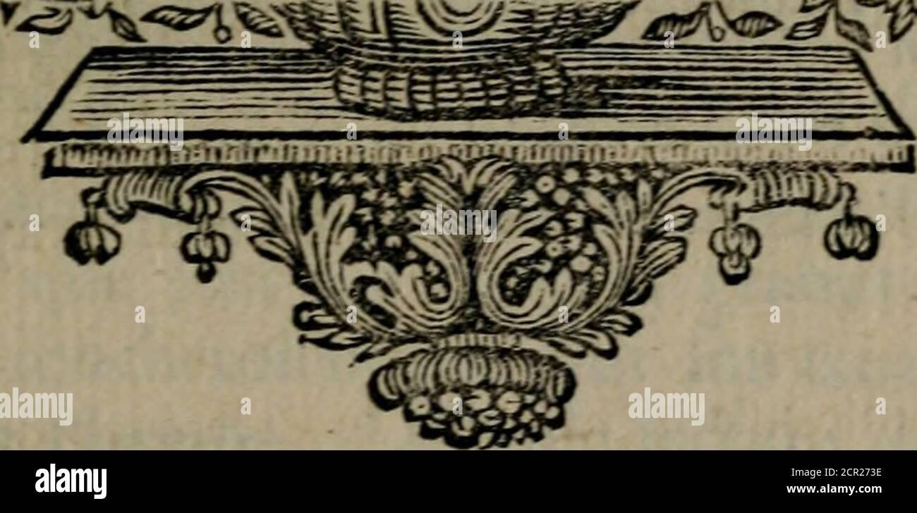 . Emblemes ou devises chretiennes : ouvrage mêlé de prose & de vers, et enrichi de Figures .. . V2. EMBLEME XXIÏ, Stockfoto