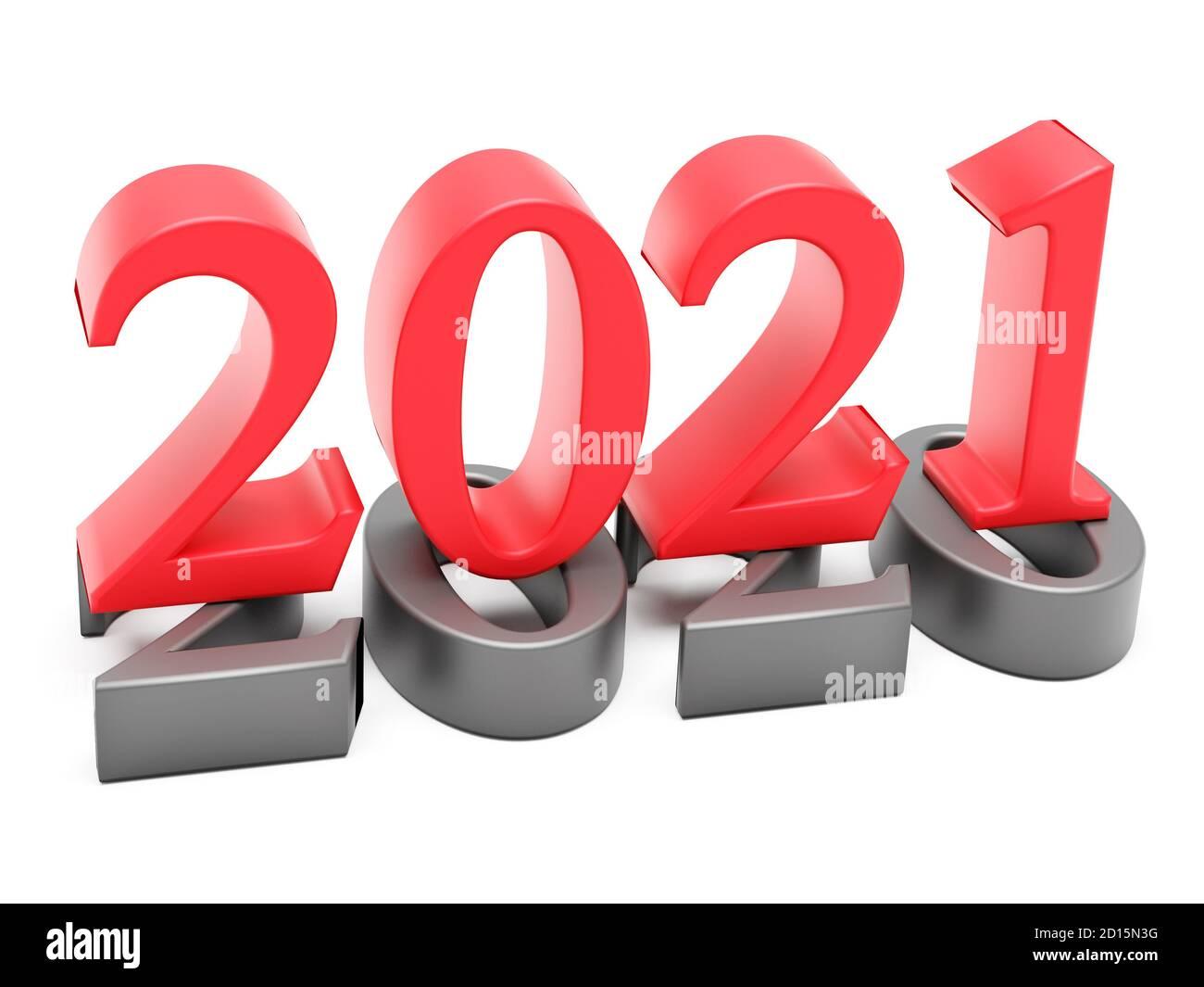 Neues Jahr 20 Urlaubskonzept. Die Farbnummer 20 liegt bei 20 ...
