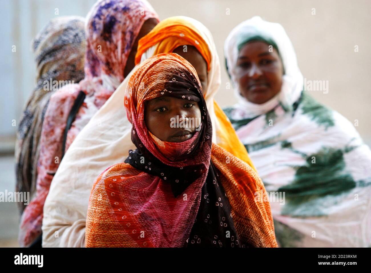 Mädchen Nouakchott