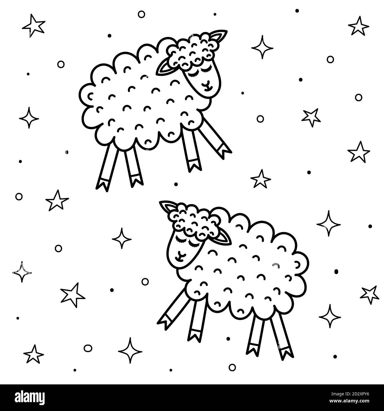 Schlafende Schafe Ausgeschnittene Stockfotos Und Bilder Alamy