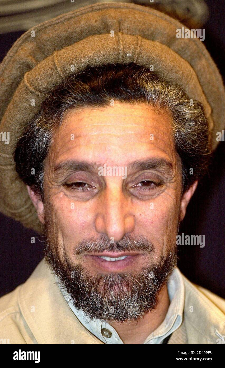 Ahmad Shah Massoud, der altgediente Kommandant des bewaffneten ...