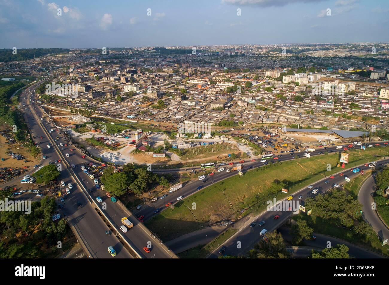 Abidjan Stadt Stockfotos Und Bilder Kaufen Alamy