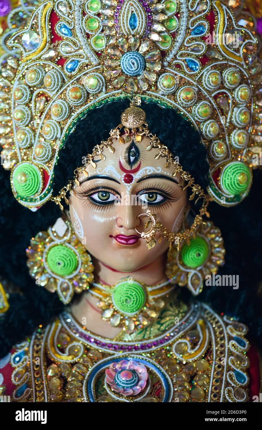 Devi Durga Stockfotos Und Bilder Kaufen Alamy