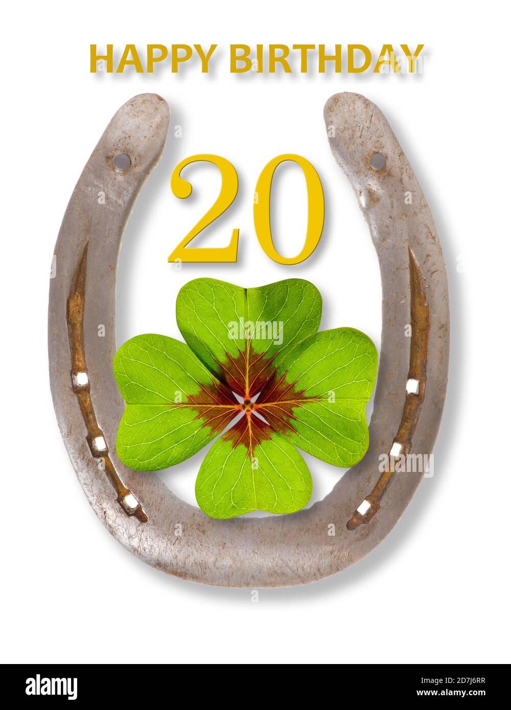 Zum 20 glückwünsche Geburtstagswünsche und