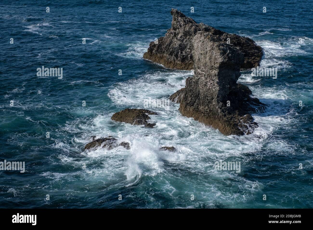 Bilderwelten Poster Claude Monet Gl/änzend 30 x 30cm Felsengruppe Port-Goulphar Quadrat