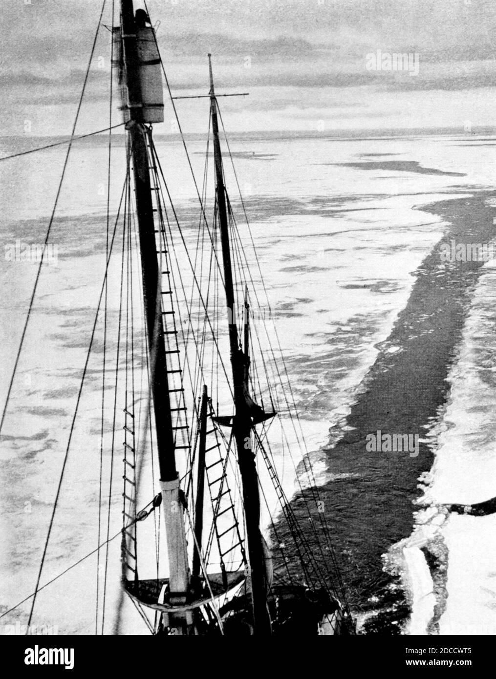 Australasian Antarctic Expedition, SY Aurora Stockfoto