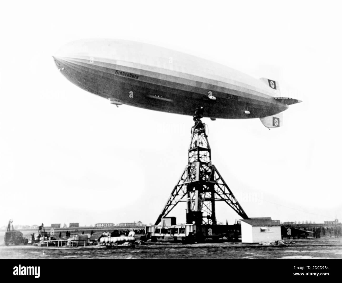 Hindenburg-Katastrophe, 1937 Stockfoto