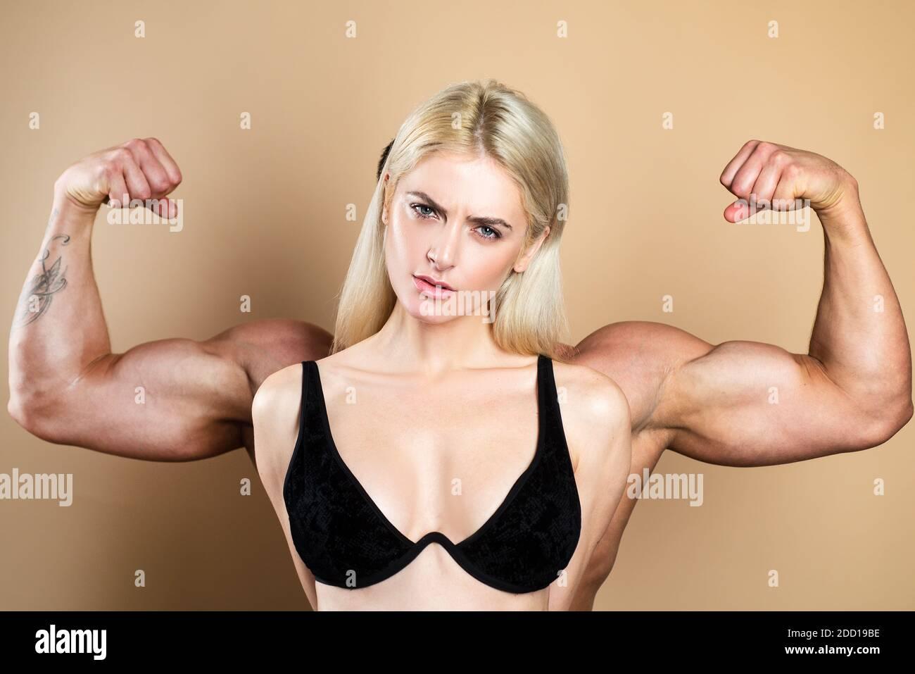 Mädchen muskel Muskel Mädchen