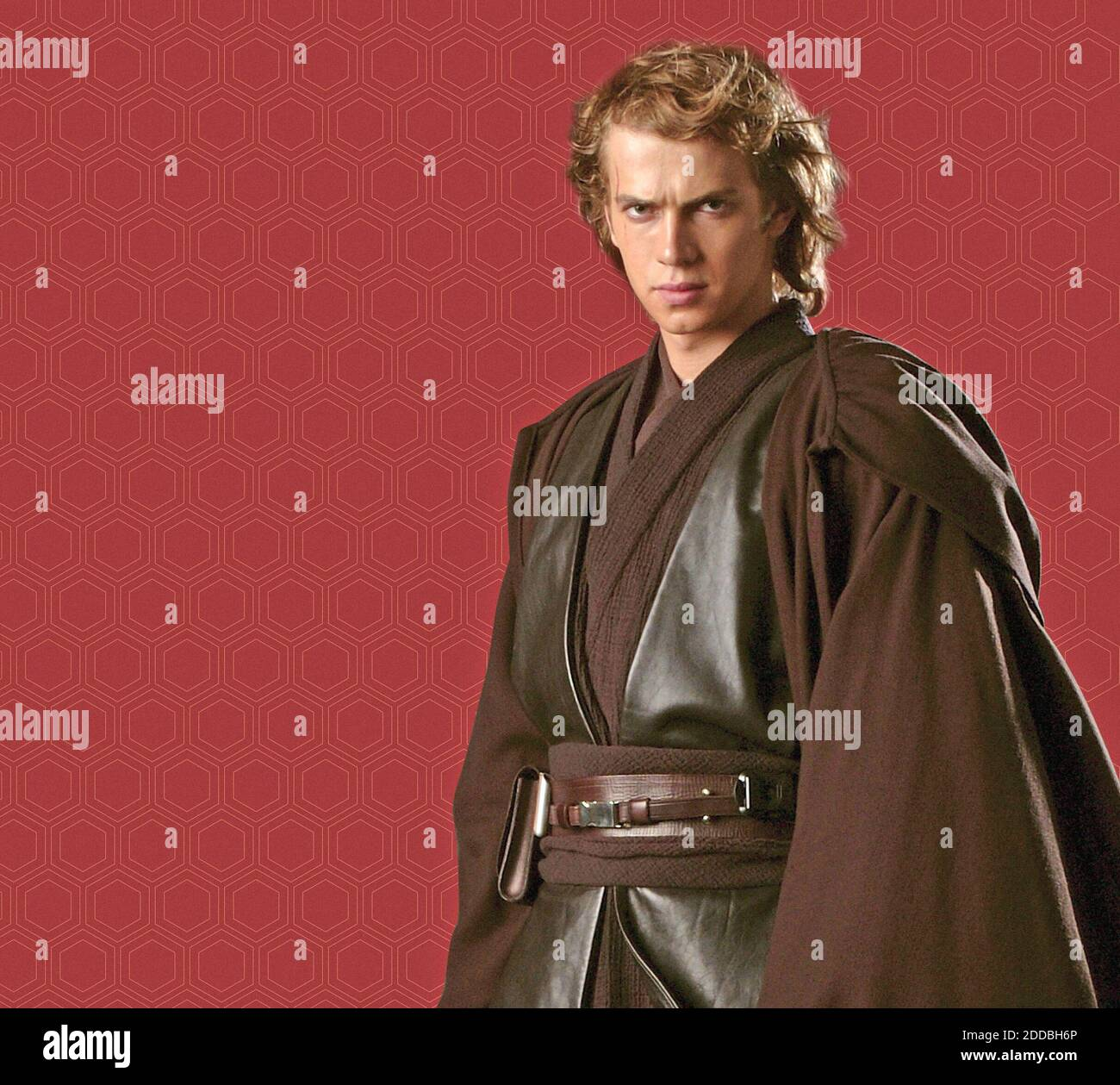 KEIN FILM, KEIN VIDEO, KEIN TV, KEIN DOKUMENTARFILM - Anakin Skywalker (Hayden Christensen) in einer Jedi-Standardtunika. Die dunkle Farbe drückt in Star Wars seine Unabhängigkeit vom Jedi-Rat aus. Foto von KRT/ABACAPRESS.COM Stockfoto