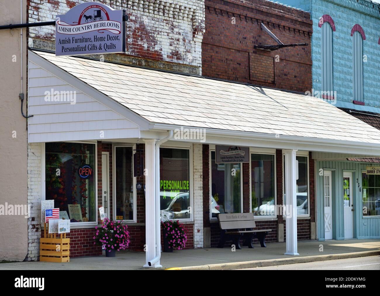 Arthur Illinois Stockfotos Und Bilder Kaufen Alamy