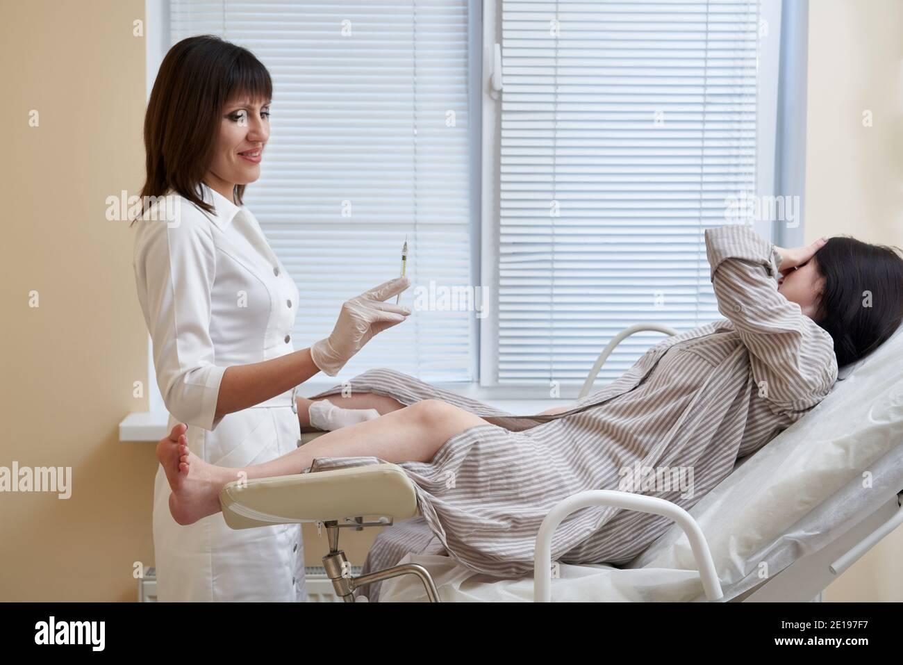 Der stuhl frauenarzt
