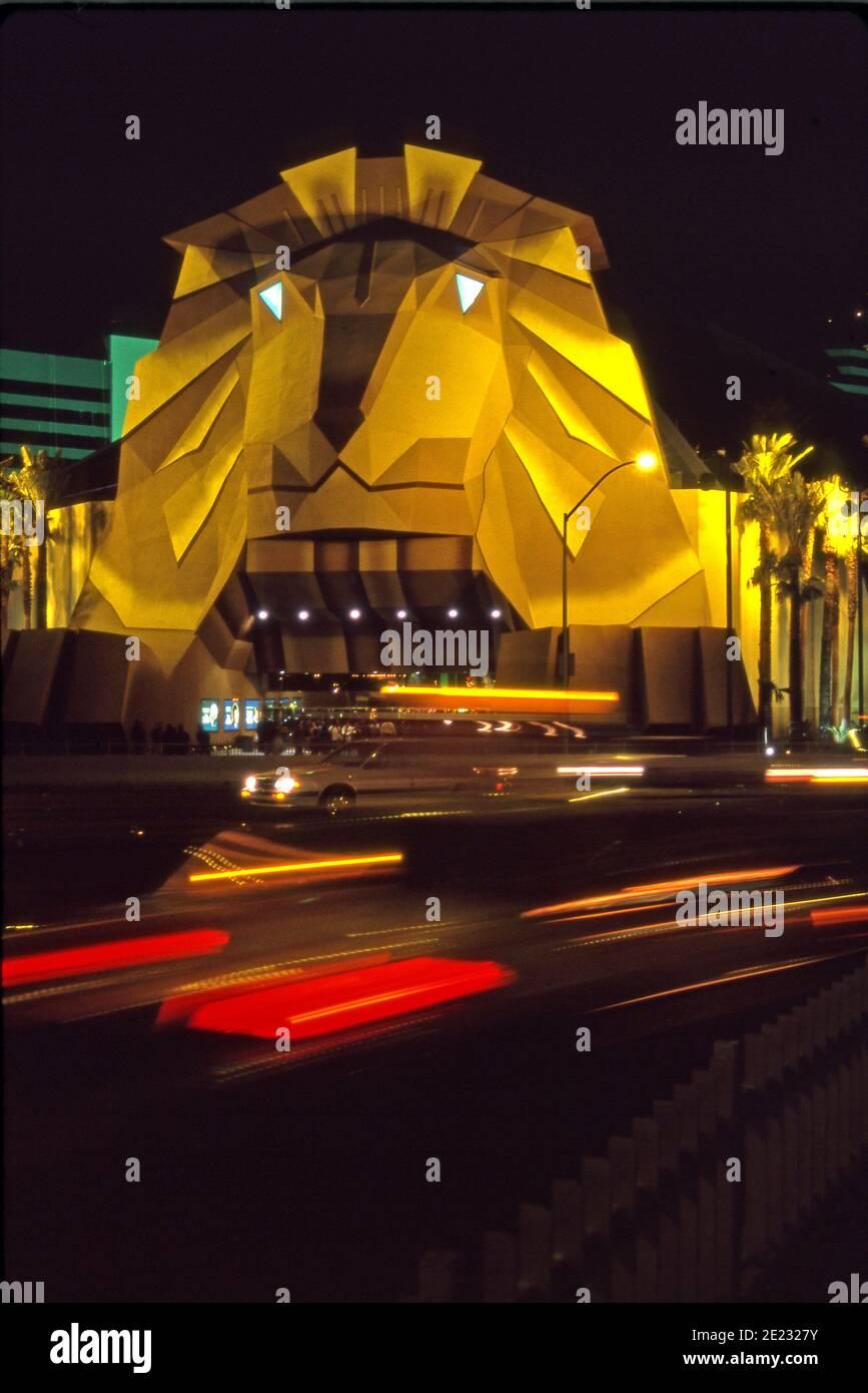 Mgm Grand Hotel Und Casino Stockfotos Und Bilder Kaufen Alamy