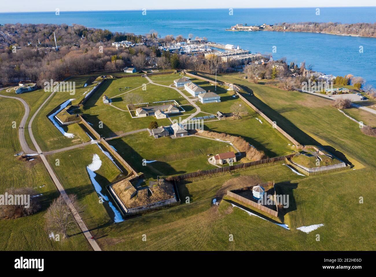 Fort George National Historic Site, Niagara-on-the-Lake, Ontario, Kanada Stockfoto