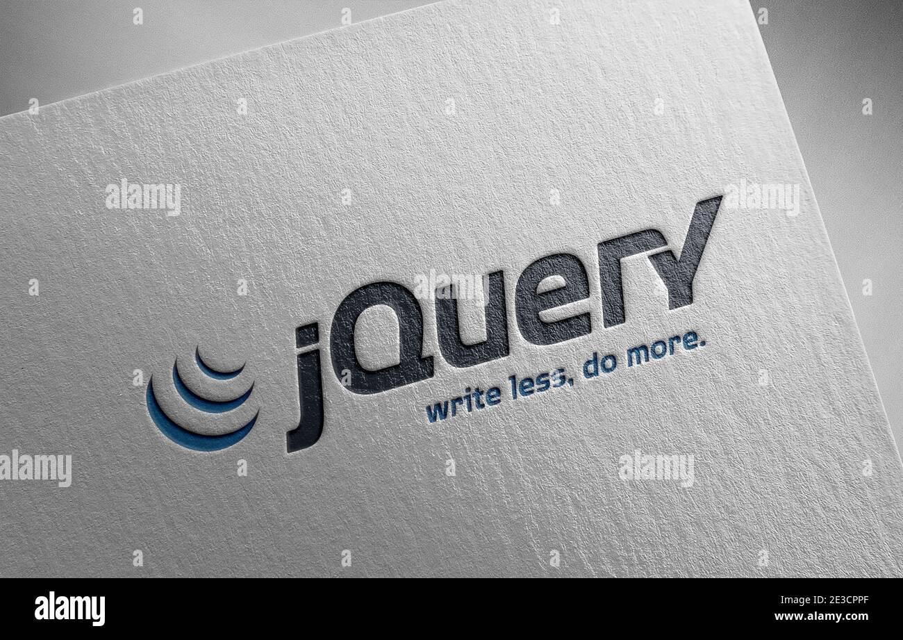 Jquery Stockfotos und  bilder Kaufen   Alamy