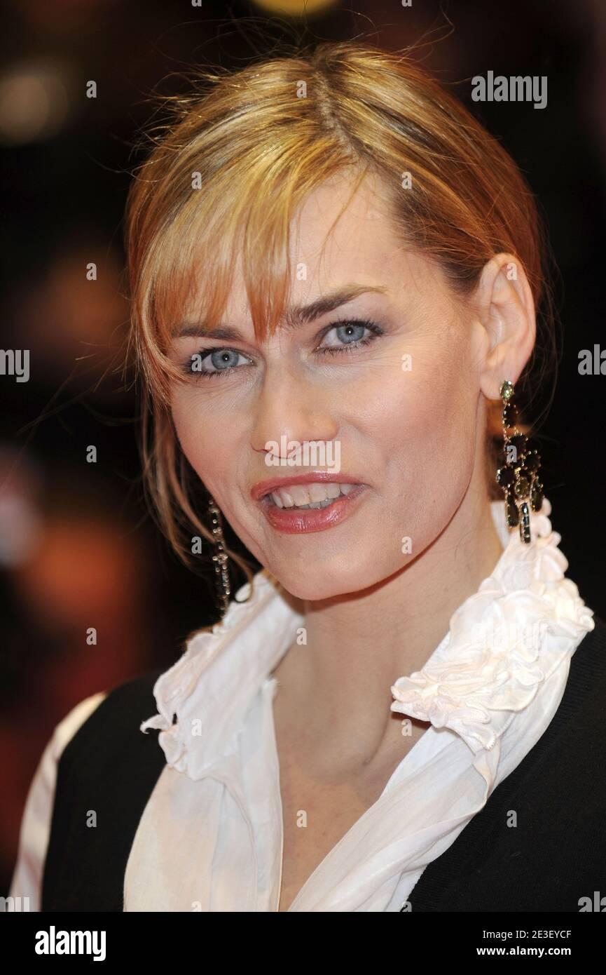Die deutsche Schauspielerin Gesine Cukrowski nimmt am 10