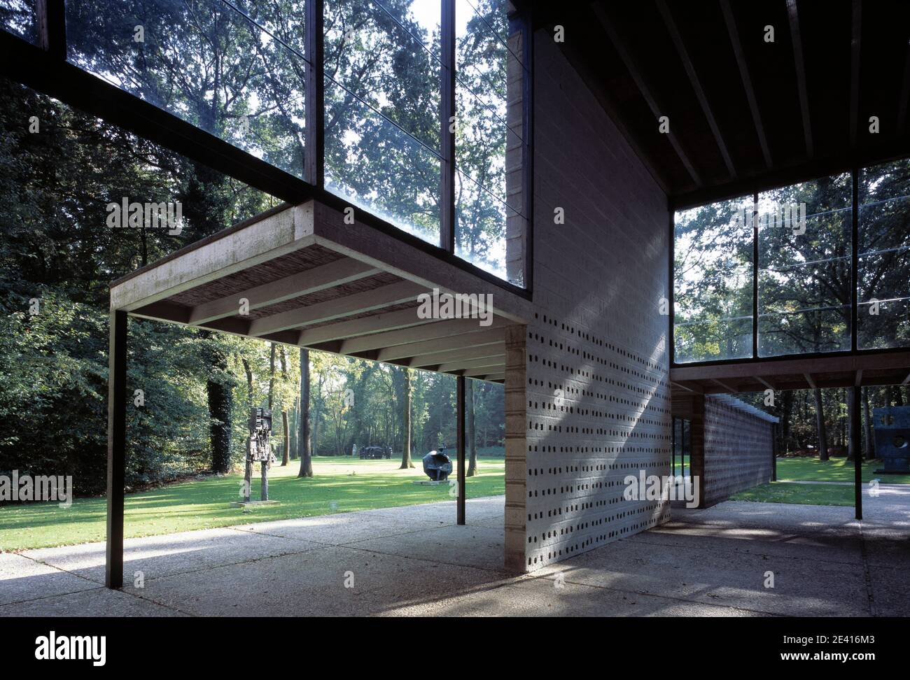 Kršller-MŸller Museum, Otterlo Stockfoto