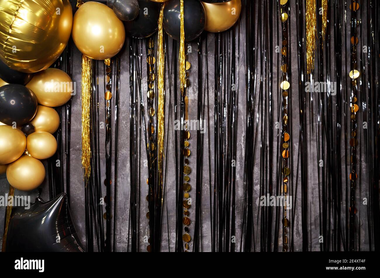 Happy Birthday Card Template Balloons Stockfotos und  bilder ...