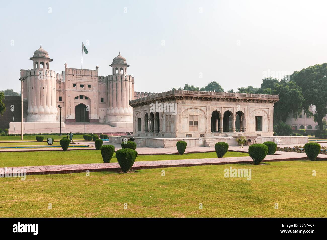 Lahore, Pakistan - Lahore Fort Tor Stockfoto