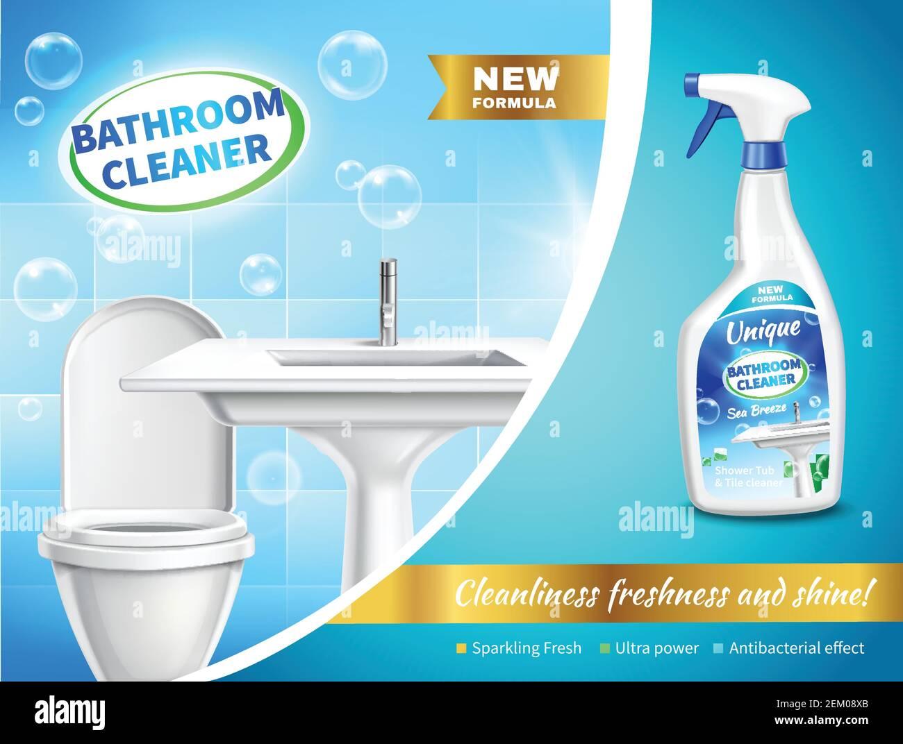 Badezimmer Reiniger Stock Vektorgrafiken kaufen   Alamy
