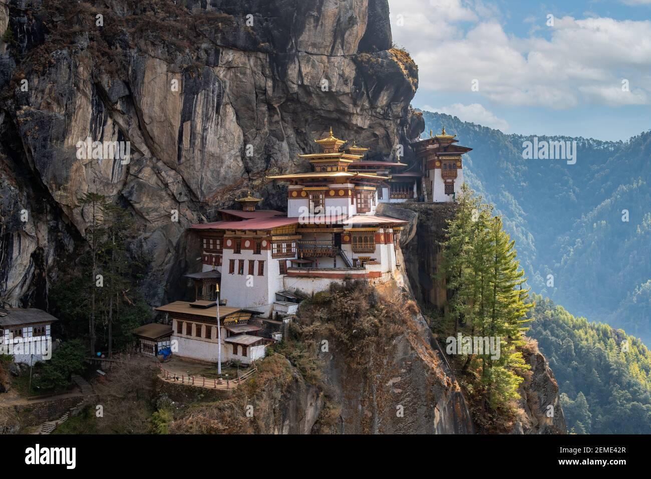 Taktsang Lhakhang, Paro, Bhutan Stockfoto