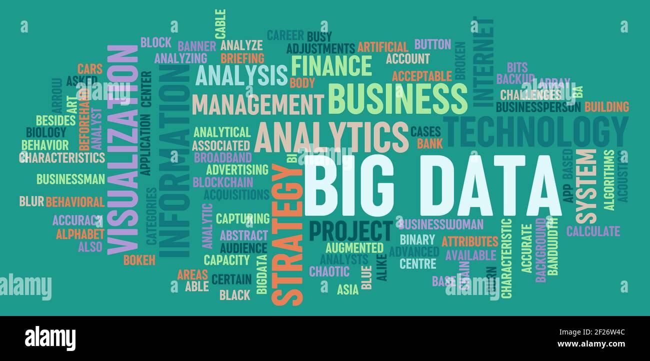 Big Data Stockfoto
