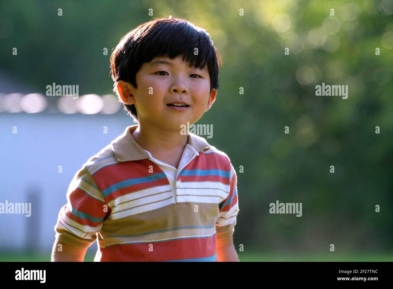 ALAN S. KIM, MINARI, 2020, ©JOSH ETHAN JOHNSON/PLAN BA24 Stockfoto