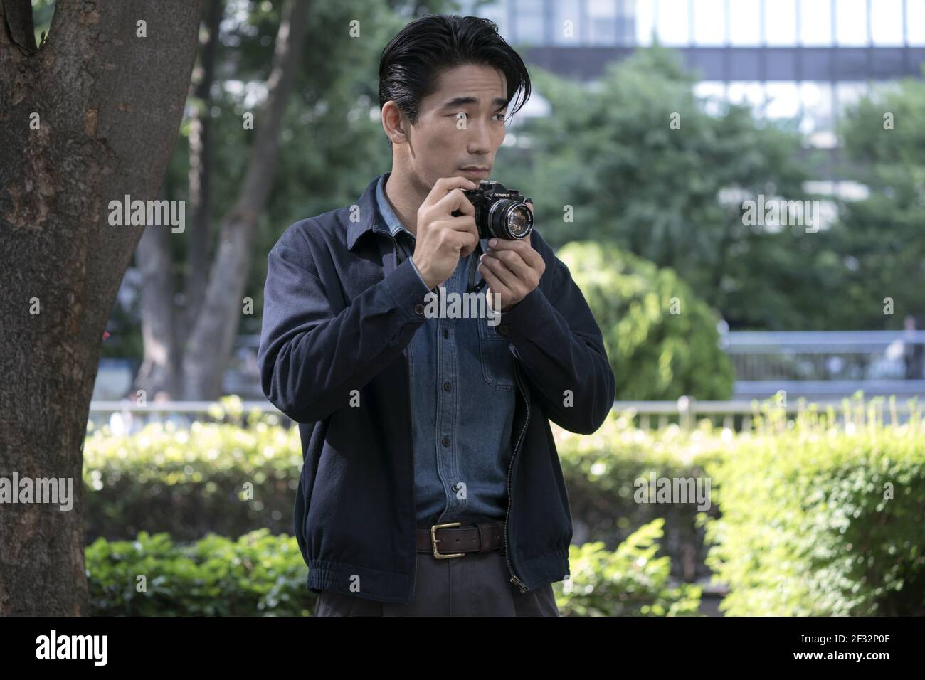 NAOKI KOBAYASHI, ERDBEBENVOGEL, 2019, ©MURRAY CLOSE/NETFLIX Stockfoto