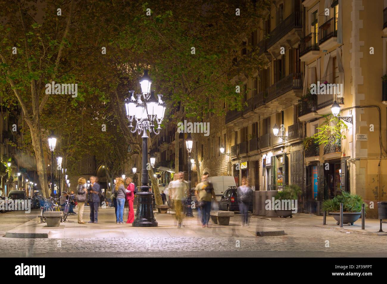 Geographie / Reisen, Spanien, Barcelona, Passeig del spring, Additional-Rights-Clearance-Info-not-available Stockfoto