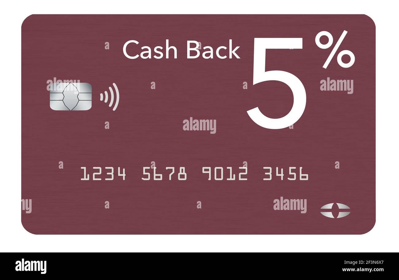 Cash Back Credit Card Text Stockfotos und -bilder Kaufen - Alamy