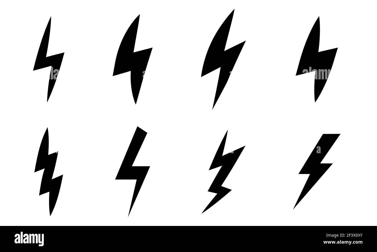 Stromschlag Piktogramm Stockfotos und  bilder Kaufen   Alamy