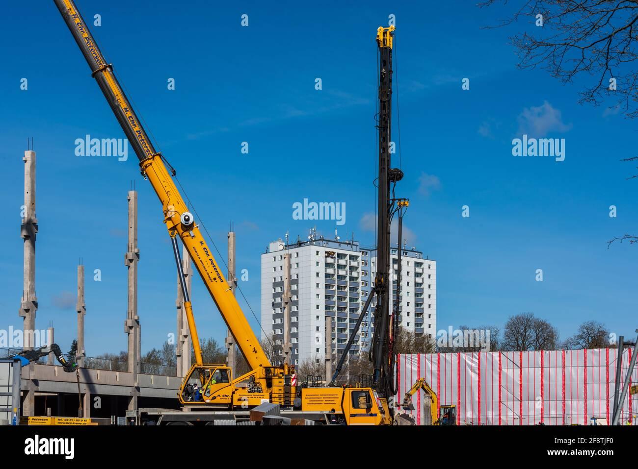 Neubau eines Möbelhauses in Kiel Schleswig-Holstein Stockfoto