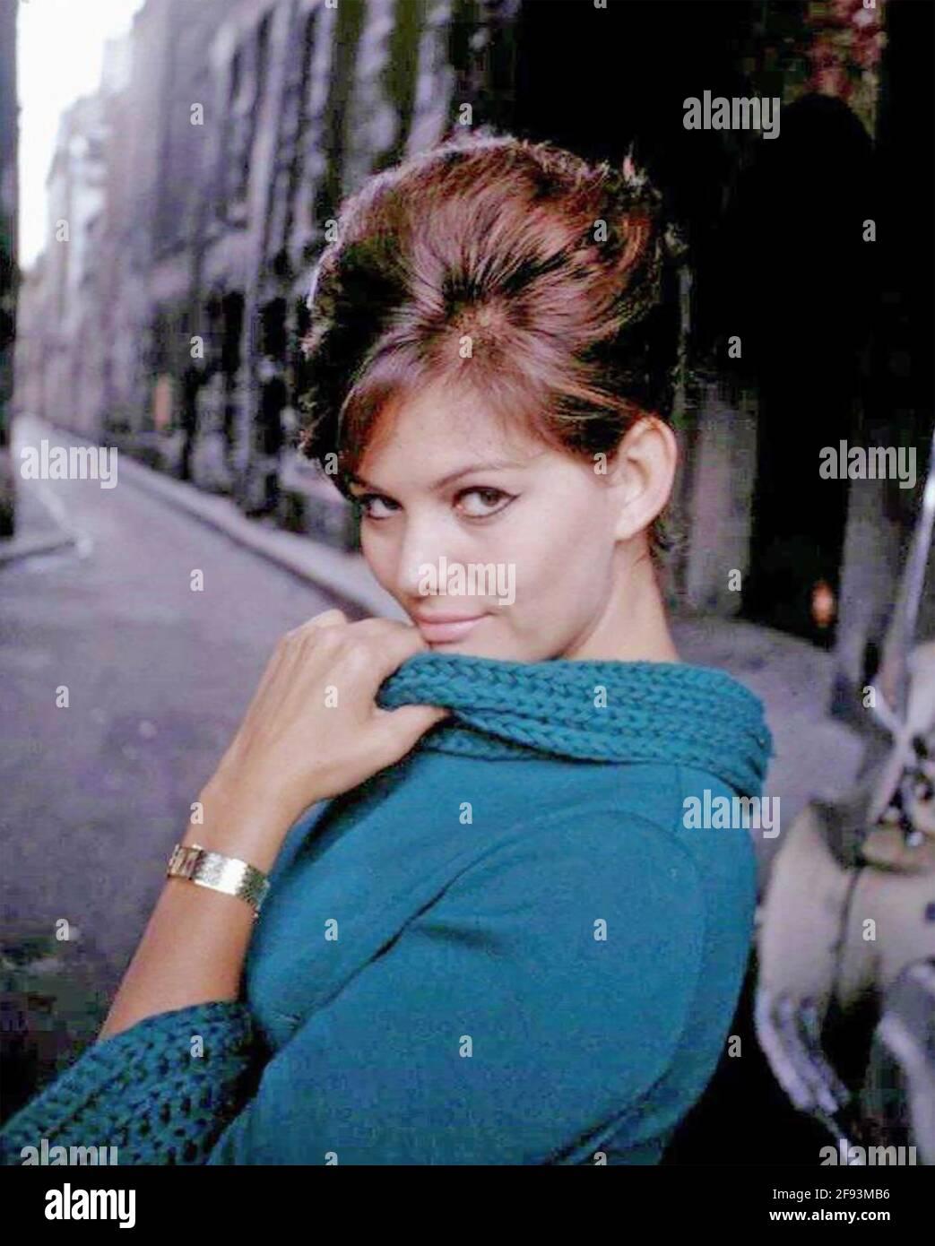 CLAUDIA CARDINALE italienische Schauspielerin ca. 1960 Stockfoto